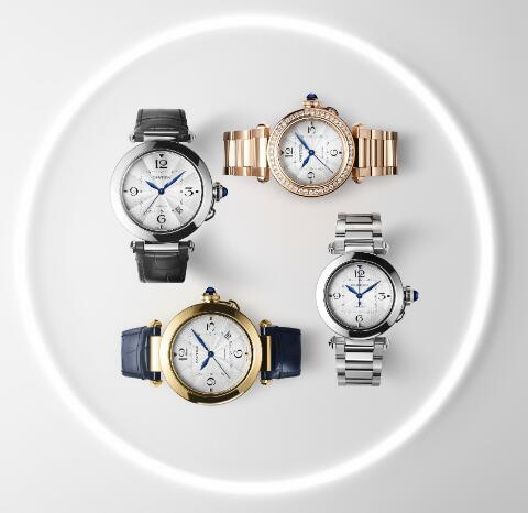 These new Pasha de Cartier watches are recognizable and eye-catching.