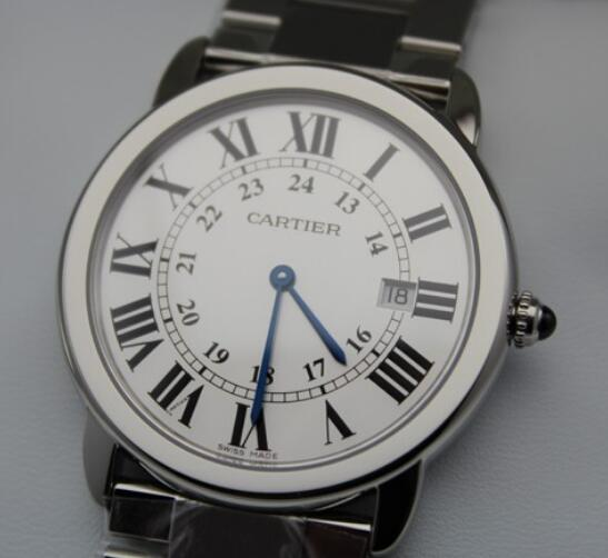 This Cartier is understated and charming.