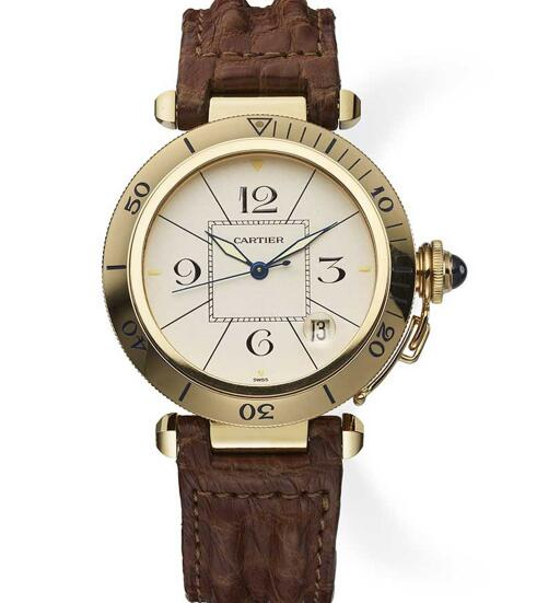 The timepiece is recognizable and distinctive.