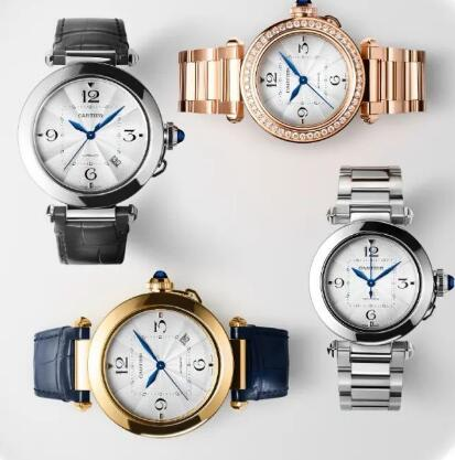 The Pasha de Cartier watches are innovative and special.